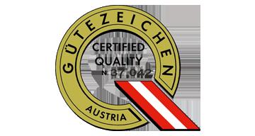 Guetezeichen Austria